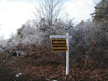 Old Trail Signs